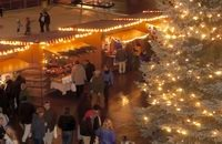 Christkindl Vendors Skating