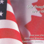 'Our thoughts are with you' 9/11 Postcard Campaign