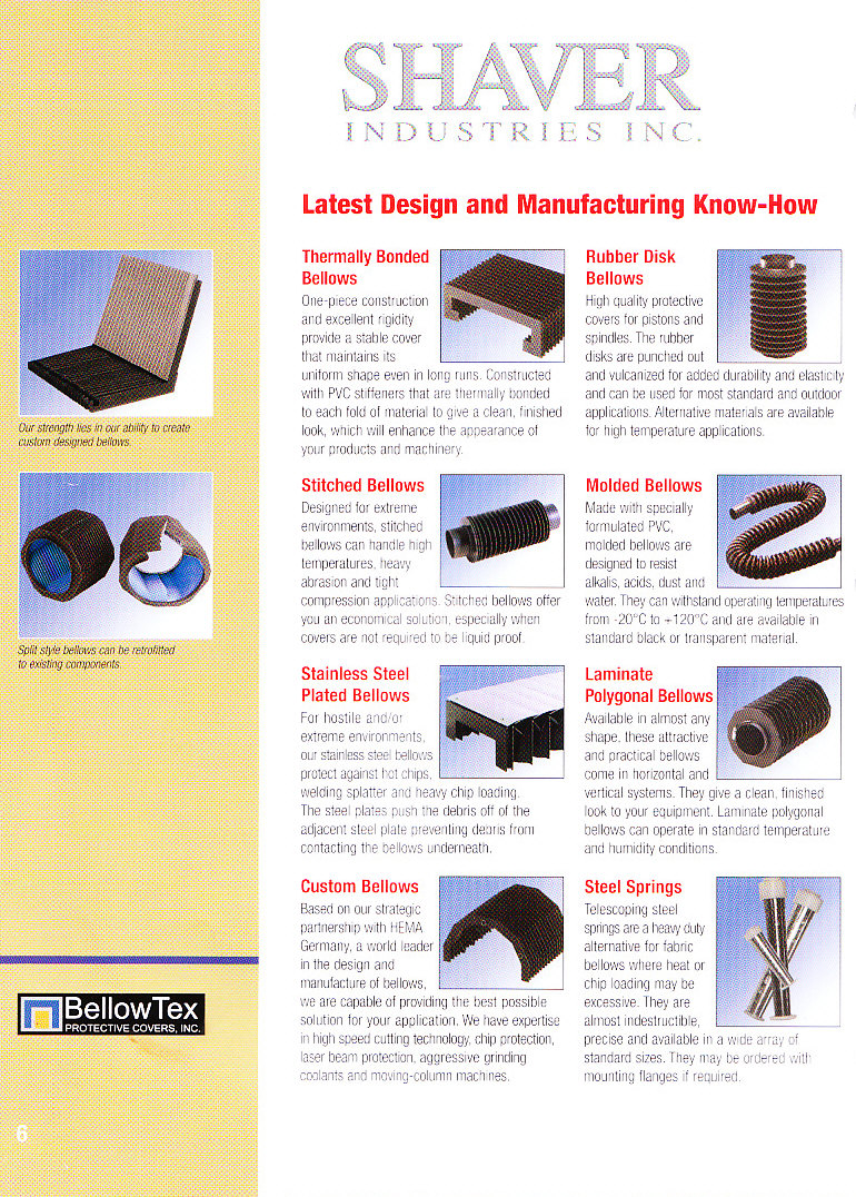 Shaver Industries Brochure